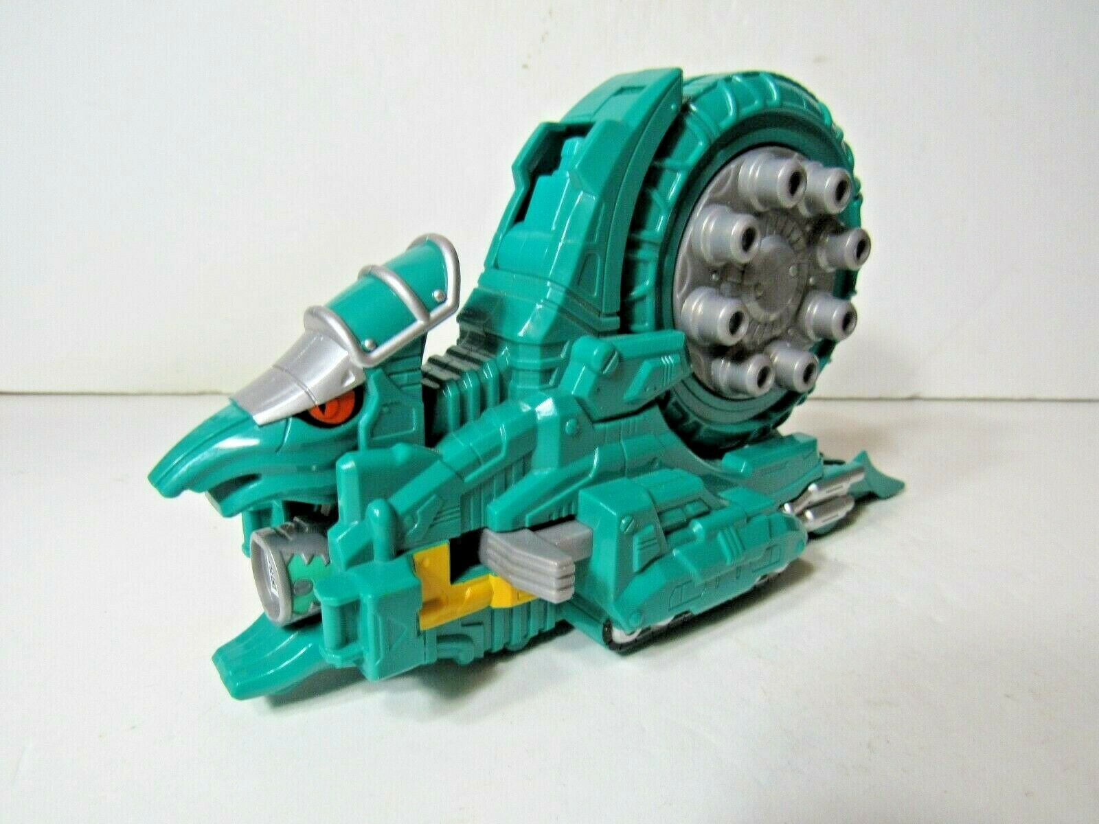 Mighty Morphin Power Rangers Dino Charge Ammonite Zord Super Teal Green