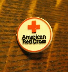 American Red Cross Lapel Pin - Vintage Blood Drive Assist Volunteer Humanitarian