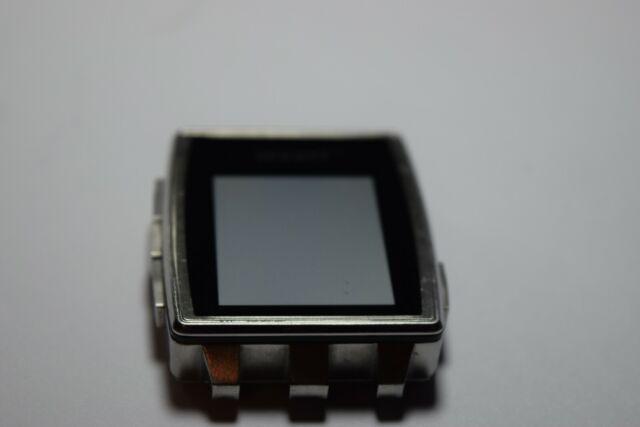 Pebble Steel Smartwatch 401SLR Just dial