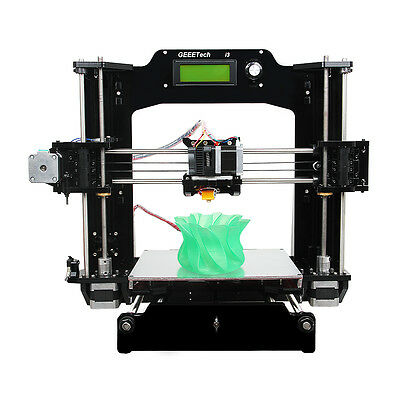 Geeetech Reprap Prusa I3 3D Printer Full Acrylic Frame Supporting 6 filament MK8