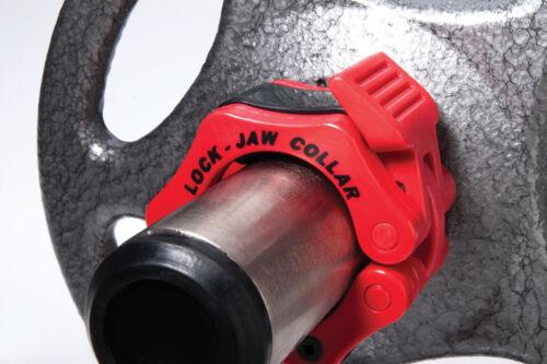 Lock jaw olympique barbell poids de colliers de serrage trismus haltérophilie crossfit
