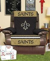 Orleans Saints Football Team Armchair Recliner Furniture Protective Cover