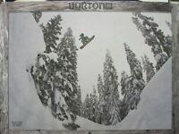 Burton Snowboards 2013 Mikkel Bang Kimmy Fasani 2 Sided Poster Condition
