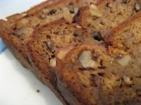Banana Nut Bread 4 Loaves Homemade By Beckeys Kountry Kitchen, Holiday Gift