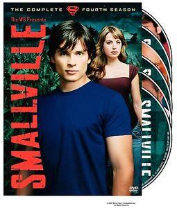 Brand-New-DVD-Smallville-The-Complete-Fourth-Season-Tom-Welling-Kristin-Kreuk