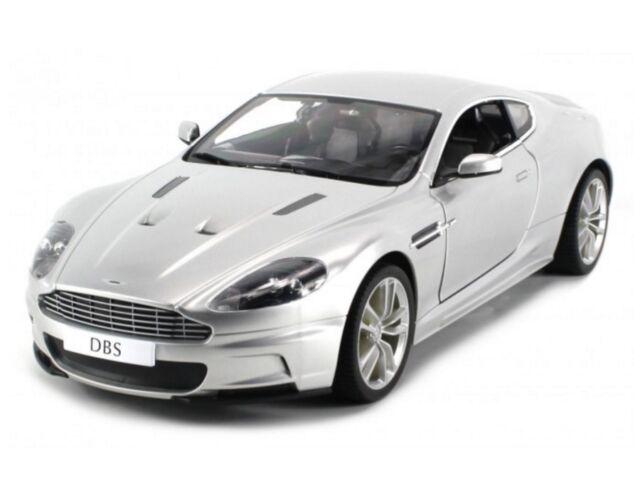 Perfect 1:14 RC Aston Martin DBS Remote Control Model Car Silver RTR New
