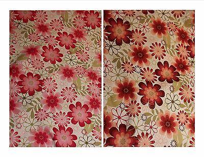 Rose & Hubble floral Print dress fabric  £6.95/m 100% cotton poplin 1.10m wide