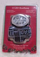 Lot Of 2 For Sales - ( )10-led Headlamp, Silver