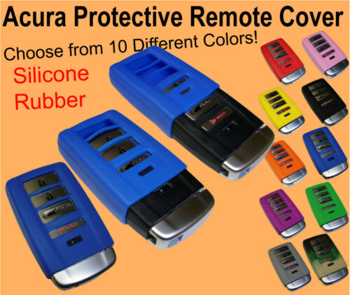 Acura Keyless Entry Remote Rubber Fob Cover MDX RLX TLX ILX RDX Clicker Case