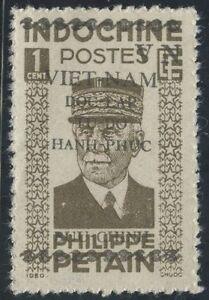Respectueux Vietnam Du Nord N°8** Pétain,1945-1946, North Viet Nam Mnh (ngai)