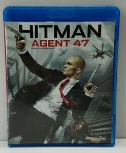 Blu Ray Bluray Greek Movie European Pal Used Hitman Agent 47