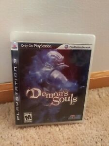 Demon-039-s-Souls-PlayStation-3-Black-Label-Tested-Complete-In-Box-PS3