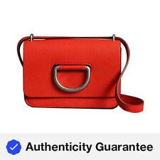 Burberry Bright Red D-ring Mini Bag 4076705