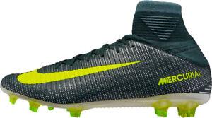 Nike Mercurial Veloce CR7 DF Scarpe da calcio FG Uomo UK 7 US 8 EU 41 Ref 2696