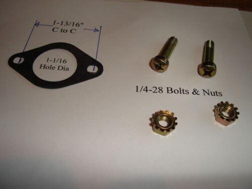 Tecumseh Carburetor Nut Screw Gasket Kit 8HP 10HP Snow Blower 29752 30088A 33263