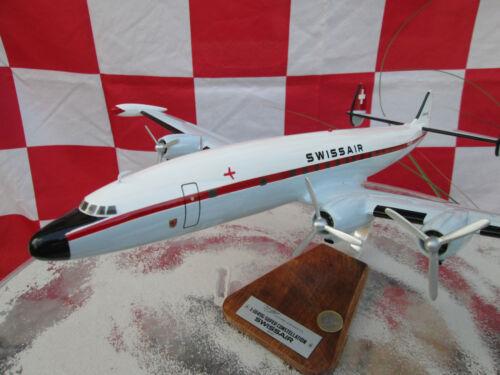 TWA Swiss IBERIA LUFTHANSA Woodmodel Aircraft YakAir Super Connie XXL KLM