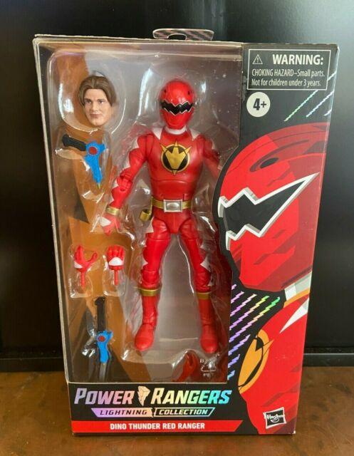 Power Rangers Lightning Collection Dino Thunder Red Ranger