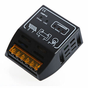 SOLAR-PANEL-CHARGE-CONTROL-REGULATOR-10-AMP-10A-MOTORHOME-CARAVAN-VW-CAMPER-VAN