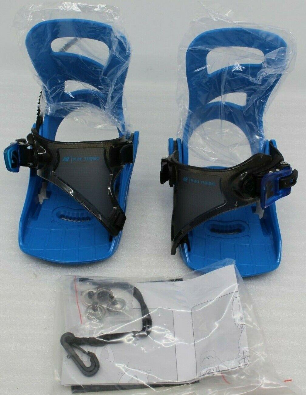 K2 Snowboardbindung Mini Turbo bluee Gr. XS 29-33,5 blue für Kinder Bindung NEU