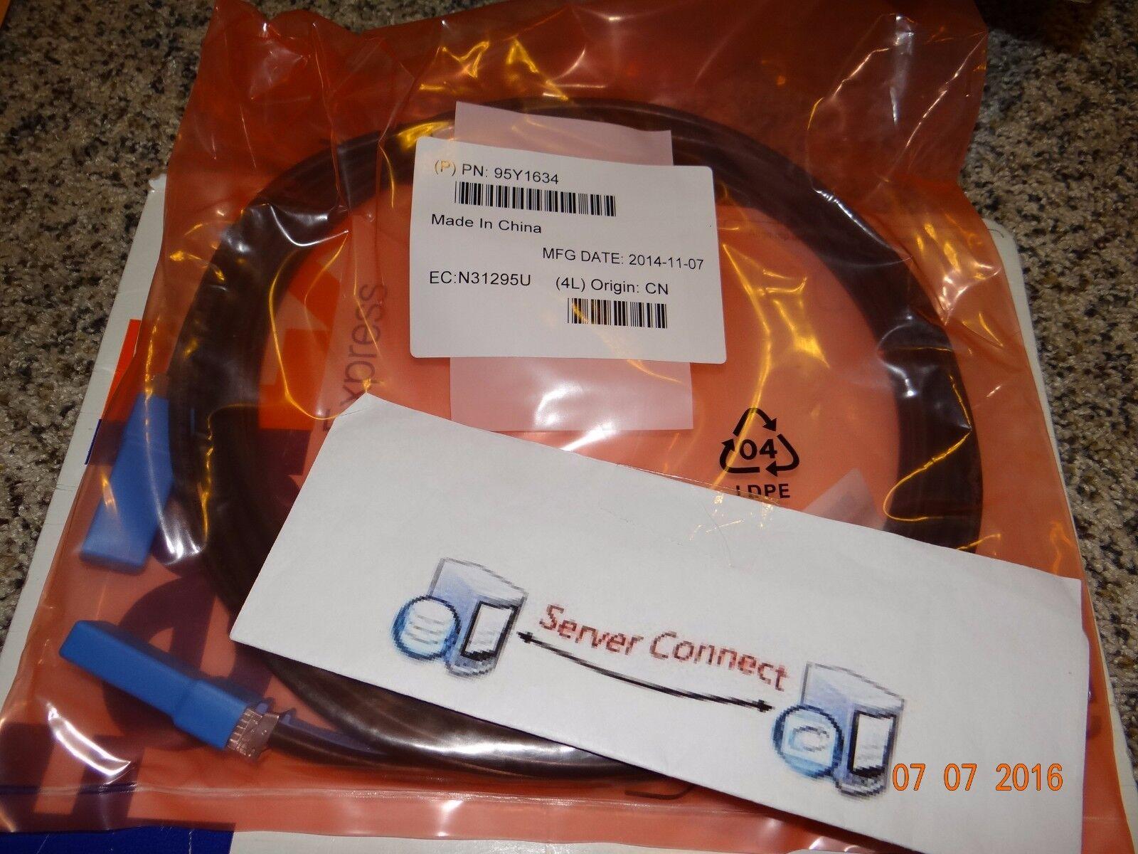 95Y1634 IBM 5m SFP+ Passive COPPER CABLE 90Y9433