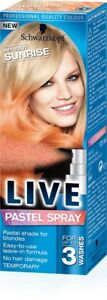 Schwarzkopf-LIVE-Pastel-Spray-APRICOT-SUNRISE-1x125ml-Temporary-Hair-Colour-NEW