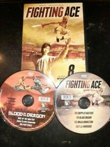 Fighting-Ace-with-8-Bonus-Movies-DVD-John-Liu-Kwan-Young-Moon