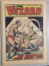THE WIZARD weekly British comic book March 31, 1973
