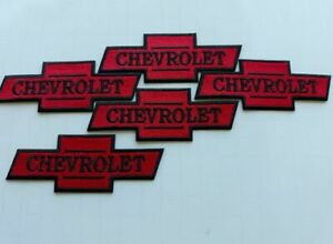 5-CHEVROLET-CHEVY-Easy-Sew-Iron-On-WHOLESALE-4-Inch-PATCHES-FREE-SHIPPING