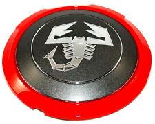 FIAT 500 ABARTH lega ruota centro CAP coperchio TRIM GRIGIO NUOVO + ORIGINALE 51820507