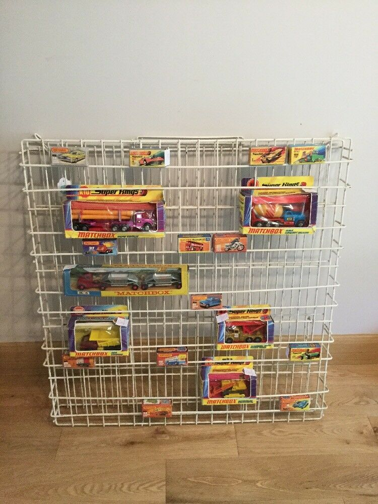 Original Matchbox Shop Display For Superfast, Superkings. Box's NOT Included