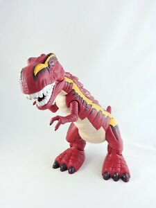 Imaginext-Mega-T-Rex-red-14-inch-Dinosaur-2005-Fisher-Price-Tyrannosaurus-dino