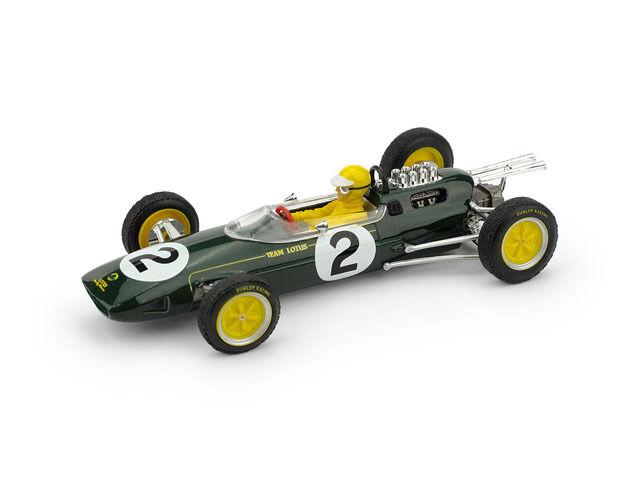 Lotus 25 T. Taylor 1963  2 Ret. Belgium GP  Driver Figure 1 43 Model R331BCH