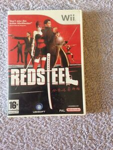 Red Steel Nintendo Wii 2006 - <span itemprop='availableAtOrFrom'>Carnoustie, Angus, United Kingdom</span> - Red Steel Nintendo Wii 2006 - Carnoustie, Angus, United Kingdom