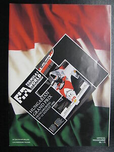 Program-Hungarian-Grand-Prix-1990-10-12-August-Hungaroring-Budapest-PBE