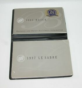 1997-Buick-Lesabre-Factory-Original-Owners-Manual-Book-Portfolio-42