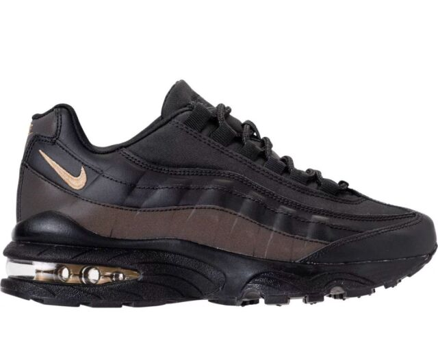 huge selection of ca509 c23ef Nike Air Max 95 Climax Size 4 GS Size 5.5 Womens Black/Metallic AH9346 001  RARE