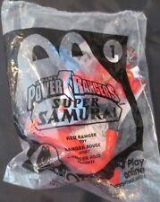 McDonald's Power Rangers Super Samurai Red Ranger #1 2012