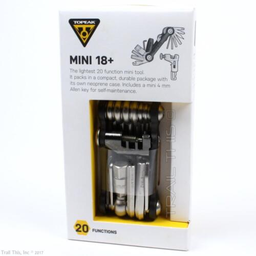 Topeak Mini 18 Plus Bicycle Multi-Tool with Chain Breaker /& Neoprene Case