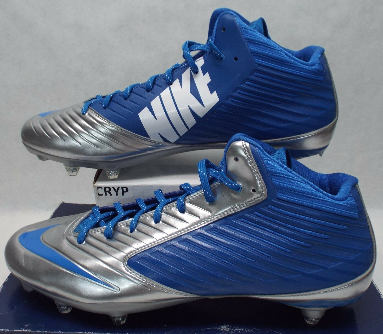New hommes 15 NIKE Vapor Speed 3/4 TD Detroit Lions Cleats Chaussures 105 668853-411