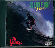 The Ventures - Surfin' Deluxe CD Japan CP35-3085 black triangle OBI