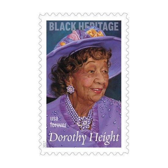 2017 49c Dorothy Height Civil Rights Leader Thomas Blac