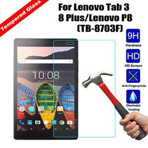 Tempered Glass Film Screen Protector For Lenovo Tab 3 8 Plus Lenovo