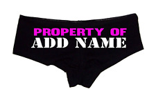 Custom Bridal Panties Create Your Own Property Of Personalized Women's Underwear