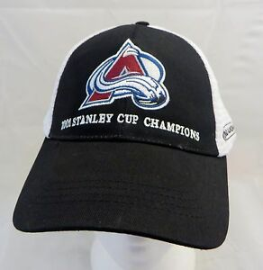 479ad22c Image is loading Colorado-hockey-2001-Stanley-cup-champion-cap-hat-