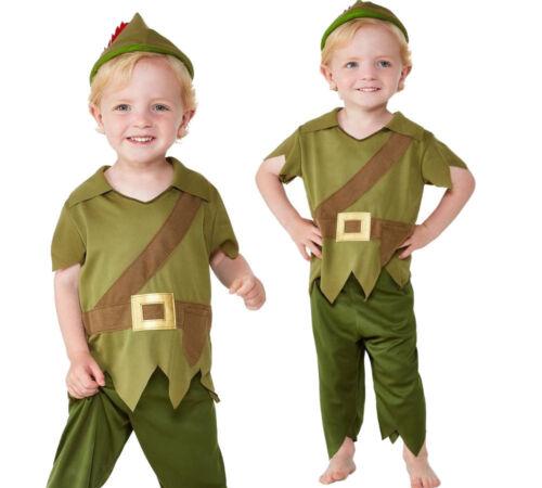 Carino Bambino Robin Hood Costume World Book Day Vestito Età 1-4