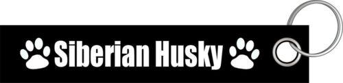 Siberian Husky Hund Hunde Hunderasse Schlüsselanhänger Schlüsselband Lanyard