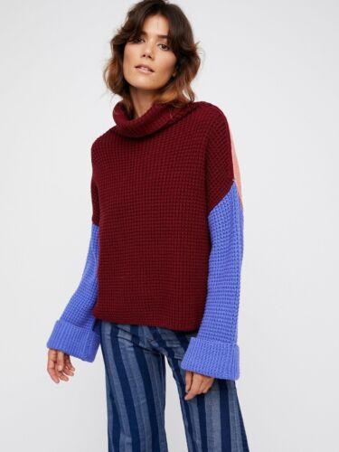 Nwt Pullover Sz Medium Strik Chunky People Free Park City Sweater TAqwxHTv4