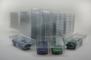 50-Hot-Wheels-Plastic-Car-Cases-Diecast-1-64-Boxes-Brand-new-clamshells