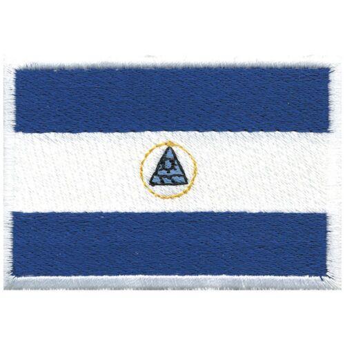 Aufnäher Applikation nähen Stick-Emblem Flaggen der Welt NICARAGUA ☆21471☆