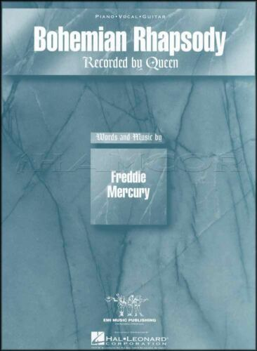 Bohemian Rhapsody Piano Vocal Guitar Sheet Music Queen Freddie Mercury